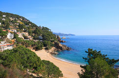 Cala Sant Francesc (Costa Brava, Spain) Stock Photo