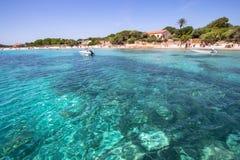 Cala Santa Maria, Sardinia, Italy Royalty Free Stock Photography