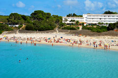 Cala Saona Beach in Formentera Royalty Free Stock Image