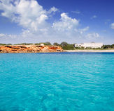 Cala Saona Formentera balearic island Stock Images