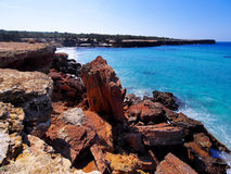 Cala Saona, Formentera Royalty Free Stock Photography