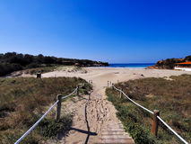 Cala Saona, Formentera Royalty Free Stock Images
