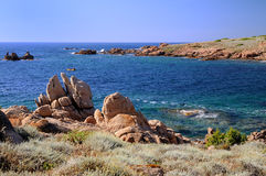 Cala Sarraina Royalty Free Stock Photography