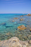 Cala Sinzias, Castiadas, Sardinia, Italy Royalty Free Stock Photo