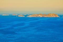 Cala Tarida i den Ibiza stranden San Jose på Balearic Island royaltyfri fotografi