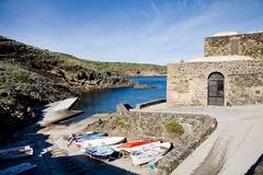 Cala Tramontana, Pantelleria Royalty Free Stock Photos