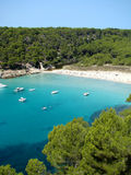 Cala Trebaluger Royalty Free Stock Photography