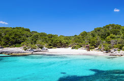 Cala Turqueta beach Stock Photos