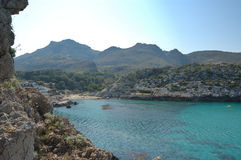 Cala vincente. Cala St Vincente, Mallorca. a popular tourist destination Royalty Free Stock Images