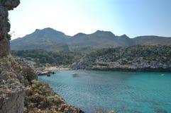 Cala vincente. Cala St Vincente, Mallorca. a popular tourist destination royalty free stock images