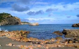 Cala Xarraca beach, Ibiza Stock Images