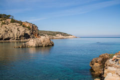 Cala Xarraca, Ibiza, Spain Stock Photos