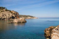 Cala Xarraca, Ibiza, Spain Stock Photos