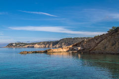 Cala Xarraca, Ibiza, Spain Stock Images