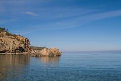 Cala Xarraca, Ibiza, Spain Royalty Free Stock Image