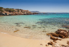 Cala Zavagli beach in Sardinia royalty free stock photos