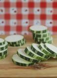 Calabacín verde Fotografía de archivo