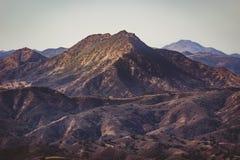 Calabasas και βουνά της Σάντα Μόνικα στοκ φωτογραφίες με δικαίωμα ελεύθερης χρήσης