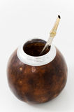 Calabash and bombilla Stock Images