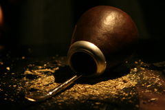 Calabash with mate. Calabash with verba mate and bombilla royalty free stock image