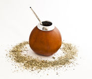 Calabash and mate Royalty Free Stock Photos