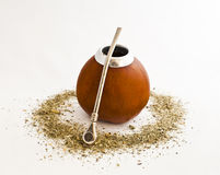 Calabash and mate Stock Photography