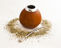Calabash and mate Royalty Free Stock Image
