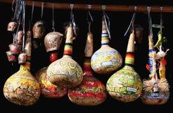 Calabash verniciato Fotografia Stock