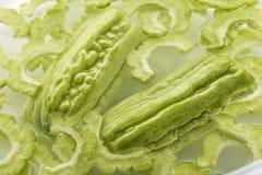 Calabaza amarga verde Imagen de archivo libre de regalías