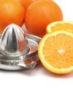 Calabaza anaranjada Imágenes de archivo libres de regalías