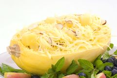 Calabaza de espagueti Foto de archivo