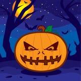 Calabaza de Halloween Fotografía de archivo libre de regalías