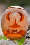 Calabaza de Halloween al aire libre Imágenes de archivo libres de regalías