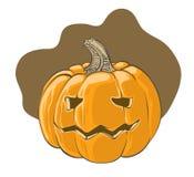 Calabaza de Halloween - ejemplo del vector Imagen de archivo