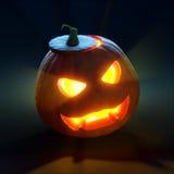 Calabaza de Halloween - enchufe o'lantern Imagen de archivo