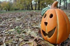 Calabaza de la linterna de Halloween Fotos de archivo libres de regalías