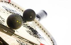 Calabaza de la raqueta imagen de archivo