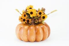 Calabaza de Víspera de Todos los Santos del otoño y F Fotografía de archivo libre de regalías