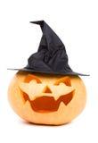 Calabaza de Witchy foto de archivo