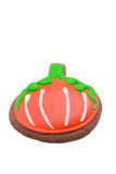 Calabaza del pan de jengibre Fotografía de archivo libre de regalías