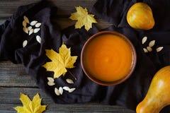 Calabaza deliciosa de Halloween o del día de la acción de gracias Imagenes de archivo