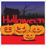 Calabaza Halloween Fotos de archivo libres de regalías