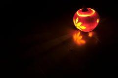 Calabaza iluminada Fotos de archivo