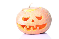 Calabaza Jack O& x27 de Halloween; Linterna Imagenes de archivo
