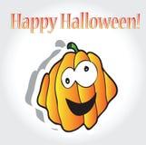 Calabazas de Halloween - tarjeta del día de fiesta ilustración del vector