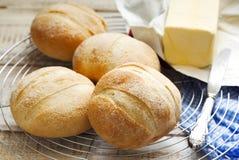 Calabrese buns. Fresh Calabrese buns. Italian baking Royalty Free Stock Image