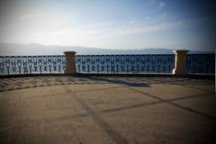 Calabrië van Reggio promenade Stock Fotografie