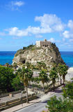 Calabria, church in Tropea city Stock Photos