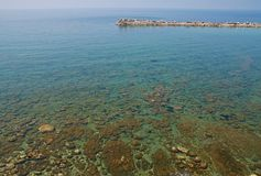 calabria cs diamante Italy morze Zdjęcie Stock