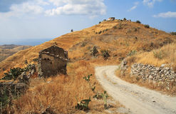Calabria lanscape Royalty Free Stock Photo